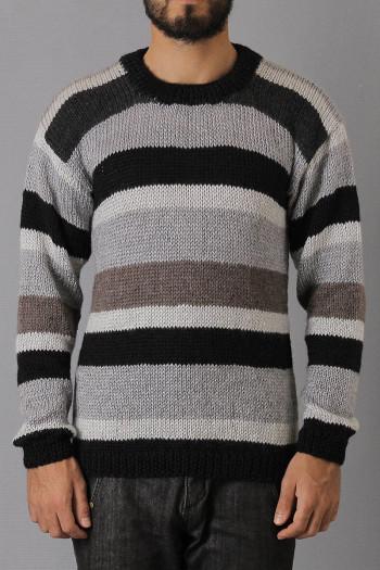 Casaco Lã Gray Lines