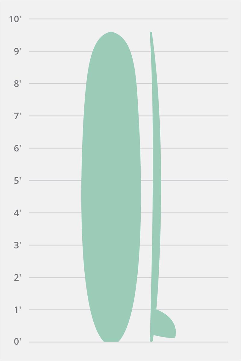 Longboard Classic Siebert Surfboards