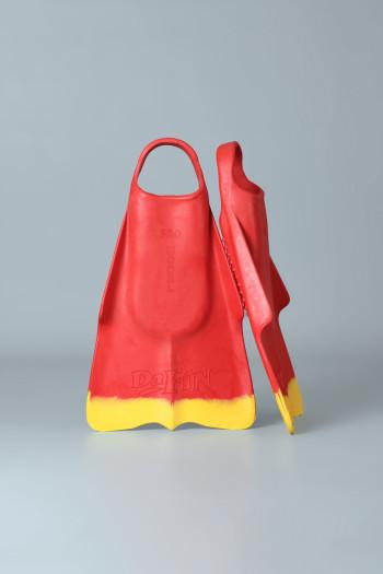 Nadadeira DaFiN (Vermelho/Amarelo)