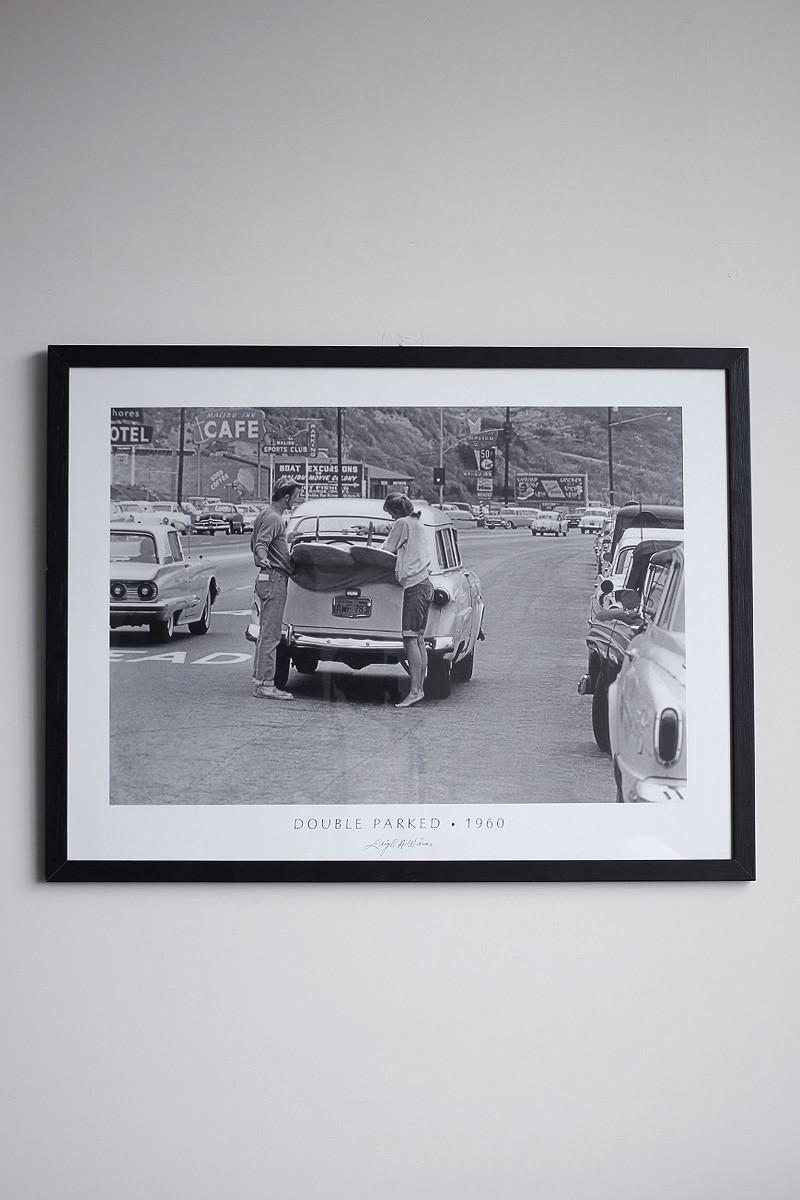 Poster Parked Leigh Wiener Siebert Surfboards 02