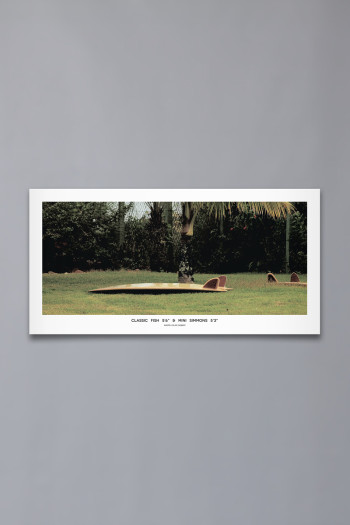 "Poster ""Fish & Mini Simmons"" (91×46)"