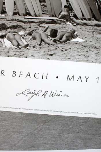 Poster Surfrider Beach Leigh Wiener Siebert Surfboards 04