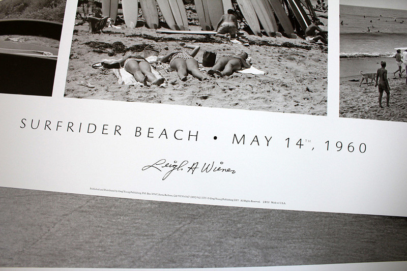 Poster Surfrider Beach Leigh Wiener Siebert Surfboards 04