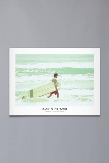 """Poster """"Walking"""" (61×46)"""