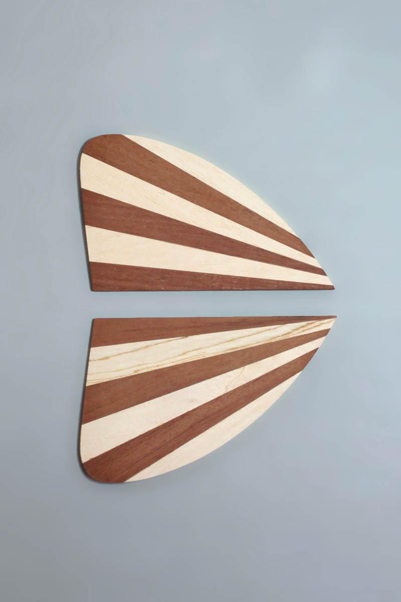 Quilha Keel Fish Stripes Siebert Surfboards