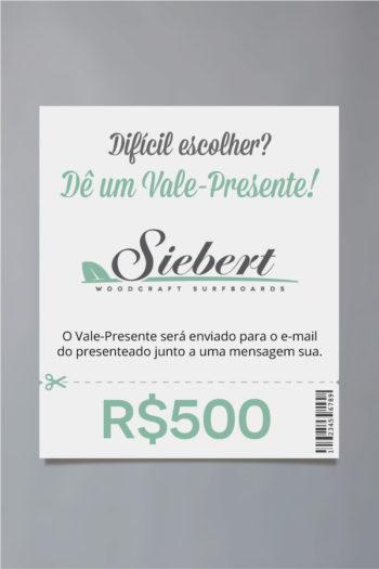 Vale-Presente De R$500